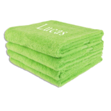 Handdoek LIME Borduren
