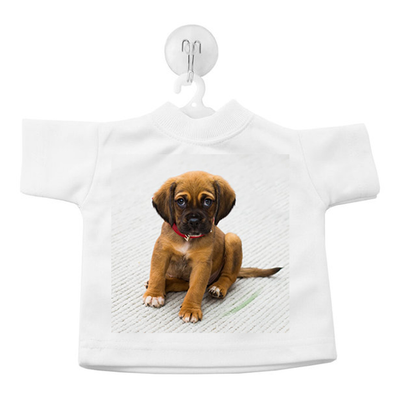 Mini t-shirt met foto